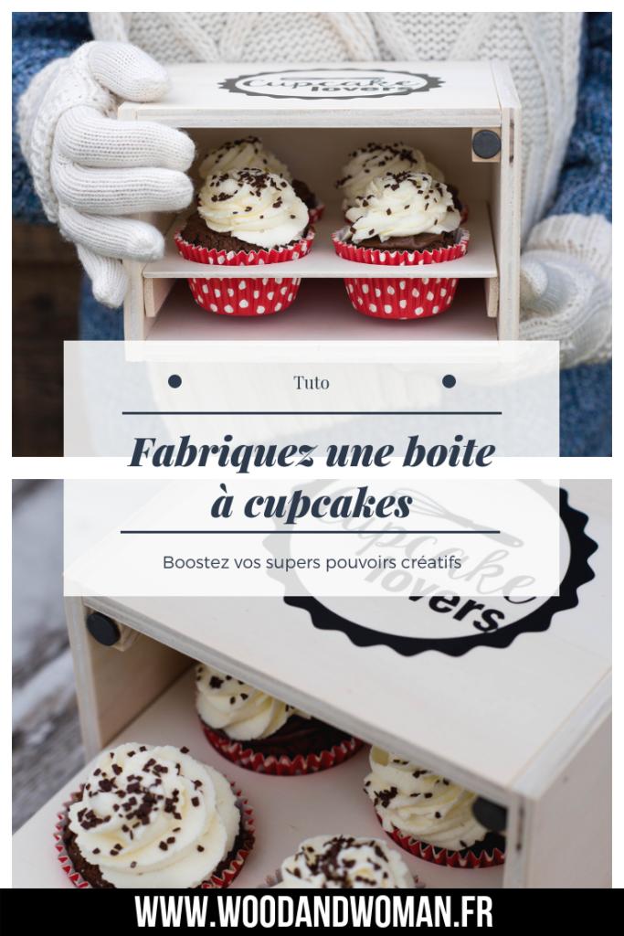Tutoriel en images pour fabriquer une boite à cupcakes ou muffins...
