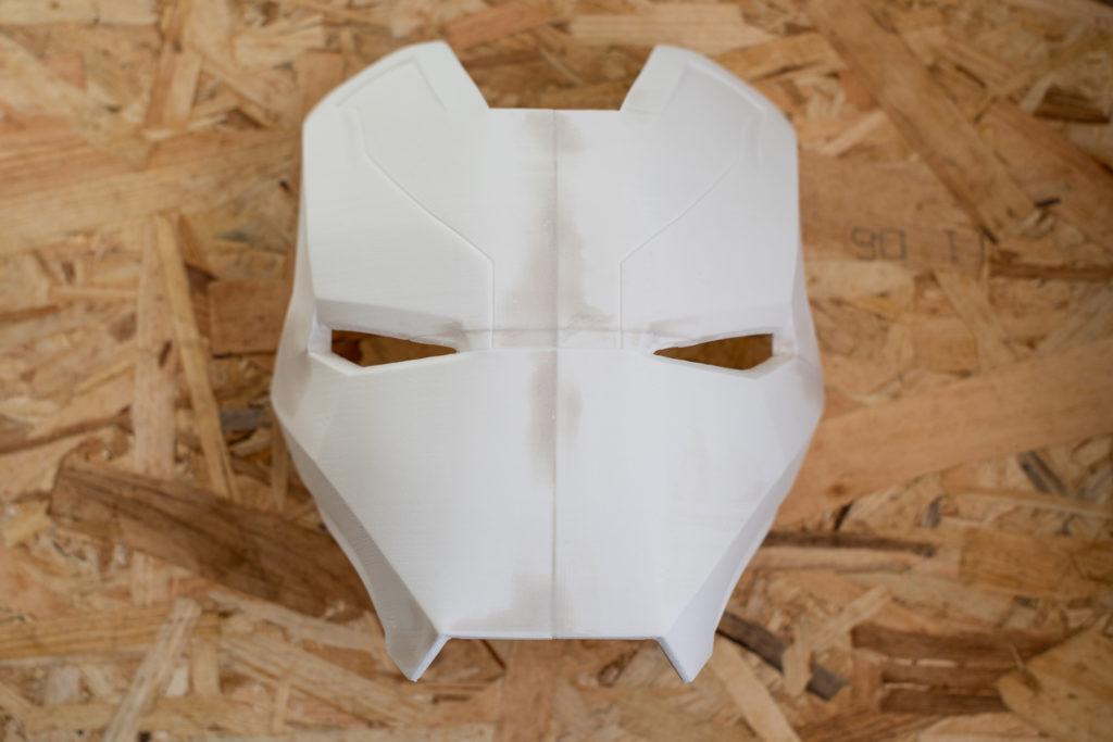 casque ironman en 3D