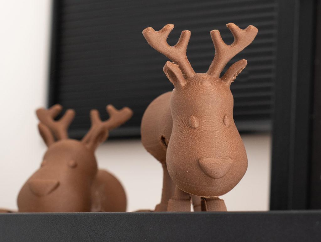 rennes décoratif imprimés en 3D
